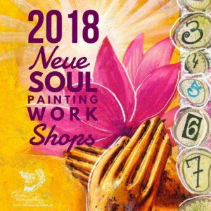 Neue Soul-Painting Workshops 2018 - eine Malreise ins (H)Erzgebirge
